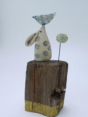 Little Hare Balancing Bird