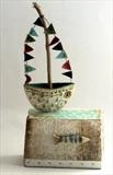 Boat by Shirley Vauvelle, Sculpture
