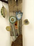 Botanical by Shirley Vauvelle, Ceramics, driftwood