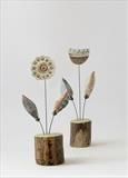 Flower Stems by Shirley Vauvelle, Sculpture