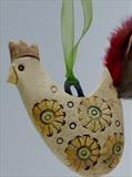 Hen by Shirley Vauvelle, Sculpture, ceramic
