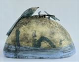Sixteen by Shirley Vauvelle, Sculpture, Stoneware