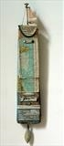 The Voyage by Shirley Vauvelle, Sculpture, Earthenware,driftwood,vintage map