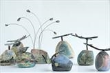 River Rocks by Shirley Vauvelle, Ceramics