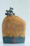 Sundown by Shirley Vauvelle, Sculpture, Stoneware
