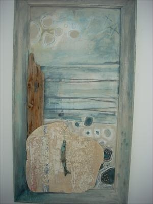 Shirley Vauvelle Mixed Media Paintings